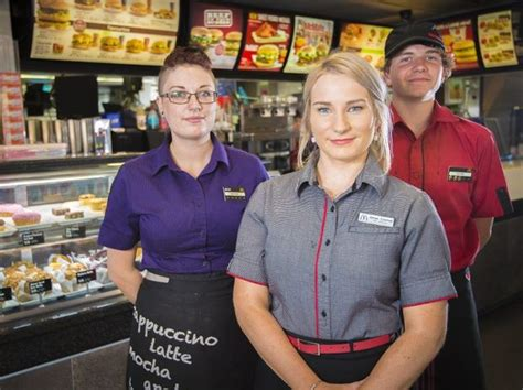 fast food worker more than mchappy to receive award gladstone observer