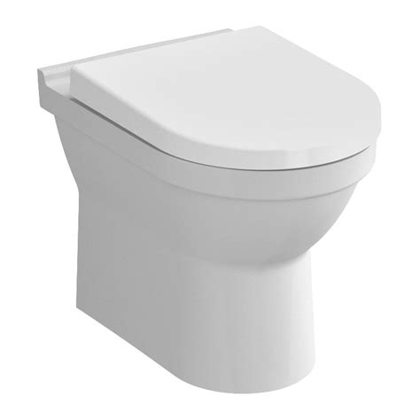 Plumb Back To Wall Toilet by Vitra S50 Model Rimless Back To Wall Toilet Pan With 2
