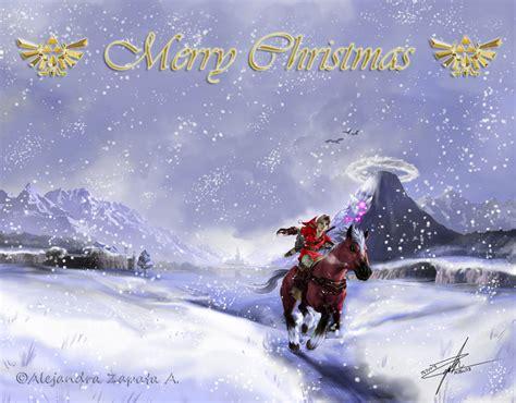 Zelda Wallpaper Christmas   merry christmas zelda by srs17 on deviantart