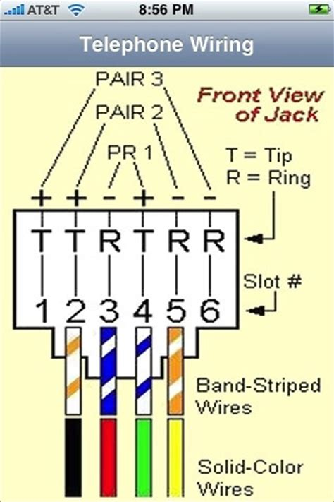 rj11 rj45 wiring | diagram img schematic