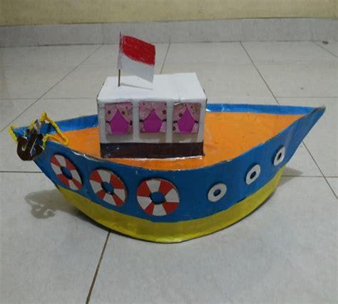 cara membuat robot mainan dari kardus bekas mainan anak bentuk kapal dari kardus bekas zona kreatif