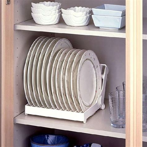 kitchen cabinet plate organizers best 25 plate storage ideas on pinterest dream kitchens