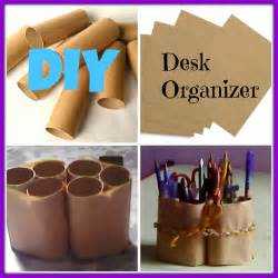 d i y diy desk organizer youtube