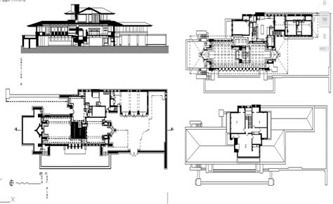 robie house plans robie house plan