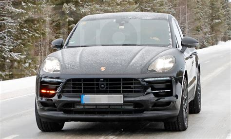 porsche macan facelift porsche macan facelift 2018 erste fotos autozeitung de