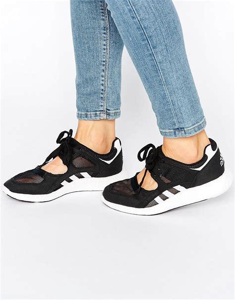 Adidas Sneaker Sole Iphone All Hp lyst adidas originals originals black lace up open sneakers black in black