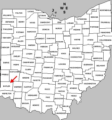Butler County Records Bceo Butler County Ohio Maps