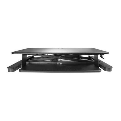 large work surface desk sit stand desk converter large 35 work surface