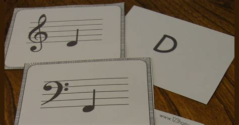 flashcards for music notes free printable flashcards template free music note flashcards