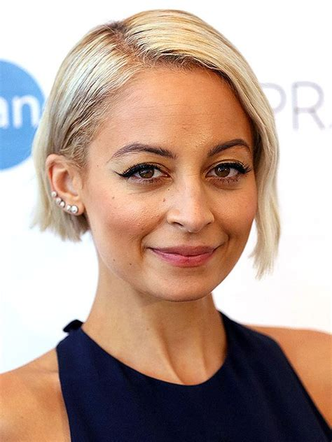 nicole richie blonde bob platinum blonde bobs are having a moment thanks to