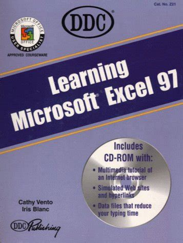 learning microsoft excel in pdf learning microsoft excel 97 pdf iris blanc cathy vento