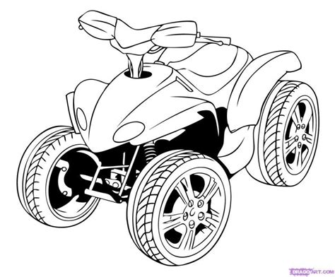 4 Wheeler Coloring Pages by 4 Wheeler Coloring Pages Coloring Home