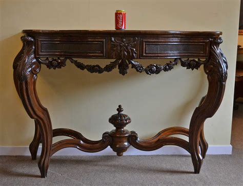 Regent Antiques   Occasional and side tables   Antique French Walnut Console Table C1840