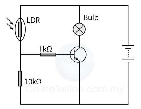 light dependent resistor voltage divider light dependent resistor potential divider 28 images ldr light dependent resistor tutorial