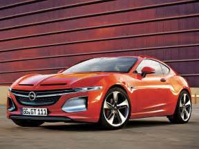 new motor car new opel gt coupe concept will debut at 2016 geneva show