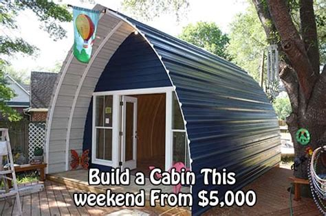 How To Build A Simple Cabin by Build A Cabin This Weekend From 5 000 Home And Gardening Ideas