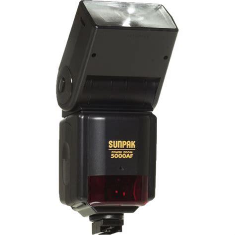 Flashes Sunpak sunpak pz 5000af ttl flash for minolta cameras 050m b h photo