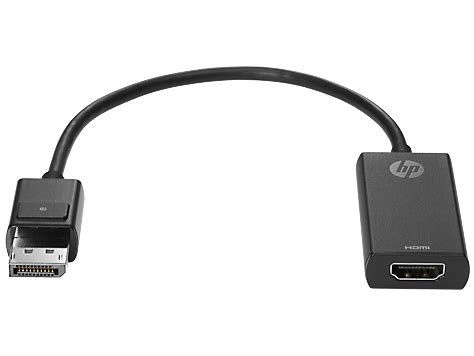 Hp Displayport To Hdmi 1 4 Adapter hp displayport to hdmi 1 4 adapter k2k92aa price in