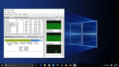 ram check windows how to fix high ram and cpu usage of windows 10 system