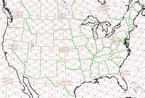 us map with grid wa9tt