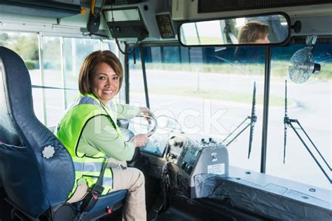 Food Truck Kitchen Design by Female Bus Driver Stock Photos Freeimages Com