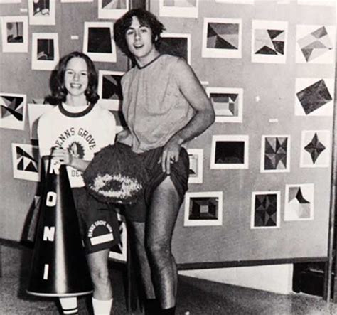 Hs Bruce Willis Vts bruce willis showing his in their 1973 penns grove high school yearbook after being
