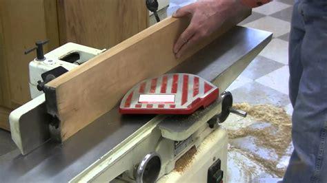 planing rough sawn lumber   jointer  planer youtube