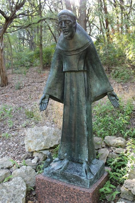umlauf st francis with birds st francis of assisi