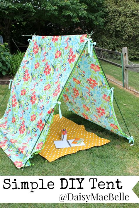 tent craft for simple diy tent daisymaebelle daisymaebelle