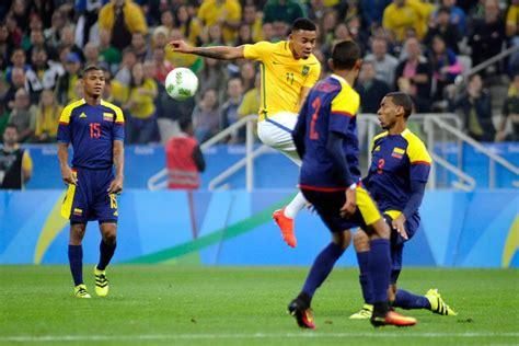 Partido Brasil Brasil 2 0 Colombia Resultado Resumen Y Goles As