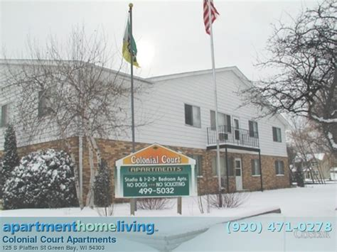 colonial court apartments green bay apartments for rent
