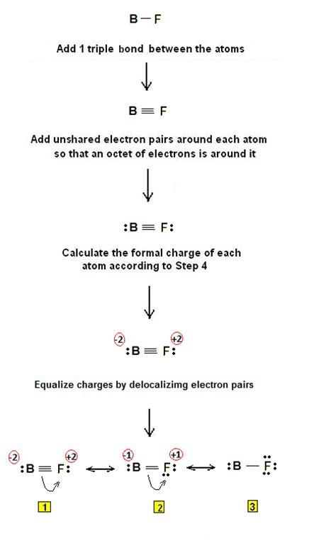 lewis dot diagram for boron lewis electron dot structure of boron fluoride bf