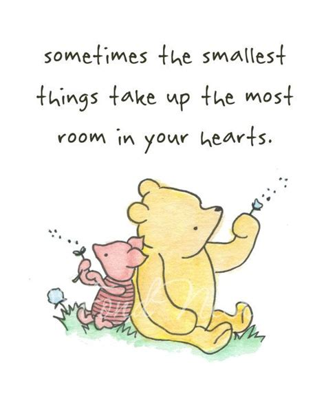 winnie the pooh quotes winnie the pooh piglet quote watercolor painting