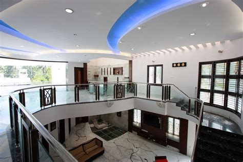 Model Home Decorations the house of curves thopputhurai tamilnadu designed by