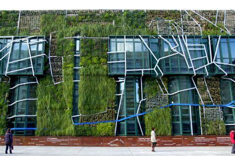 Vertical Garden Facade Urbanarbolismo S Magnificent 1500 M2 Vertical Garden