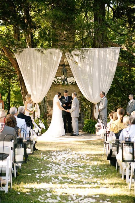 diy wedding ceremony ideas 10 list snapknot
