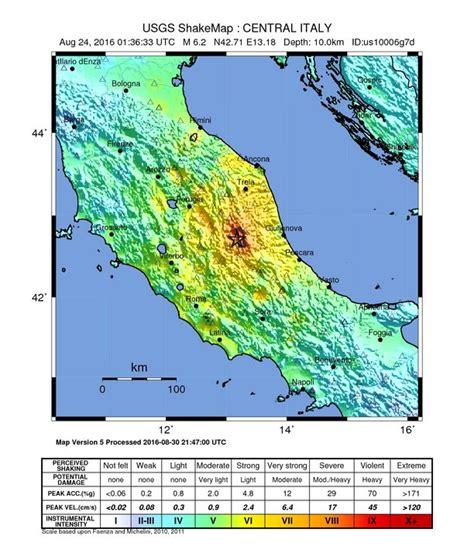 san francisco map italy erdbeben in mittelitalien 2016