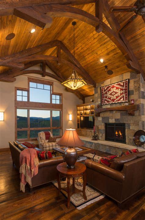cowboy living room cowboy up rustic living room denver by amaron