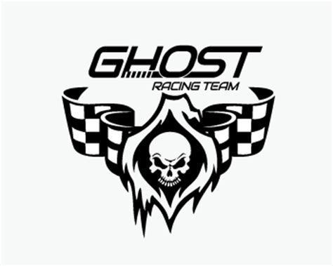logo design entry number 106 by arttees2011 | ghost racing