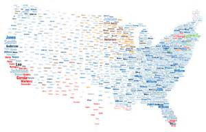us map last names genealogy friday tracing meaning of surname a look thru