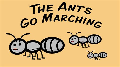 4 the of go l d the ants go marching counting song for children