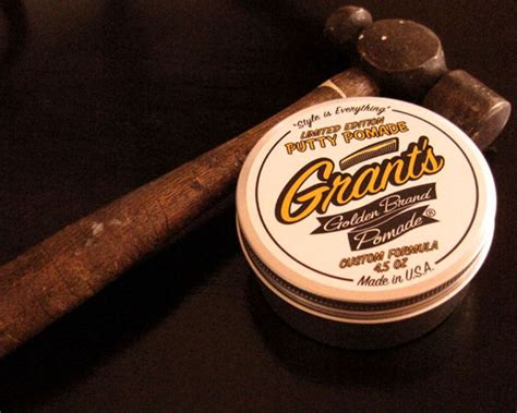 Pomade Banditos Original Usa Limited introducing quot putty pomade quot grant s golden brand water