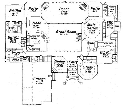 luxury one story house plans 301 moved permanently