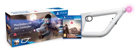 Ps Vr Farpoint Aim Controller Bundle sci fi shooter farpoint hits ps vr on 17th may with new