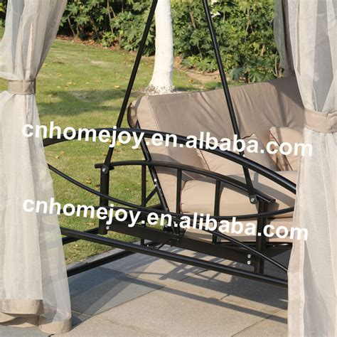 modern garden swing modern outdoor garden swing chair sling swing with canopy