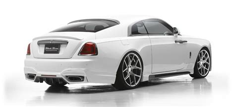 rolls royce wraith sport wald international s rolls royce wraith is a drama