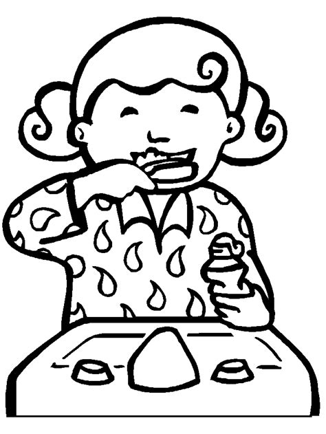 dental health coloring pages preschool dental health coloring pages kids coloring home