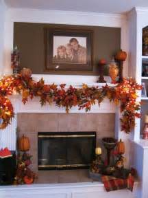 garlands with lights for fireplace 37 awesome garland ideas to welcome the fall digsdigs