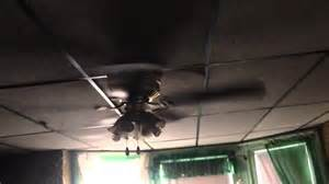 52 quot lighting hugger ceiling fan broken blade
