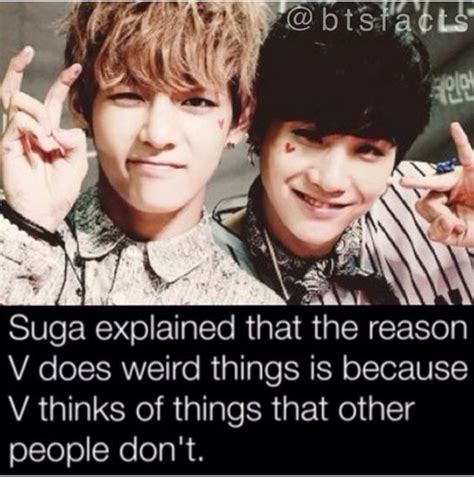 bts facts bts facts v and suga bts funny pinterest i love